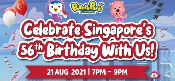 Celebrate Singapore's 56th Birthday with Pororo Park Singapore