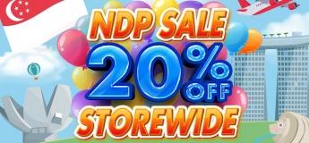 NDP Sale 20% OFF Storewide