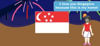 National Day Animation with Scratch Junior