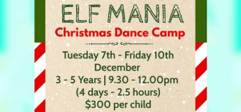 Christmas Dance Camps 2021 @Dance At The Difference