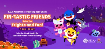 Fin-Tastic Friends Bring You Frights and Fun