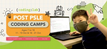 Post PSLE Coding Camps