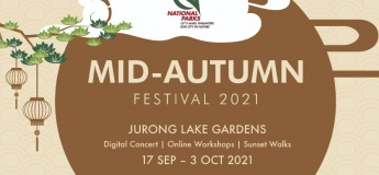 Mid-Autumn Festival 2021 by Jurong Lake Gardens