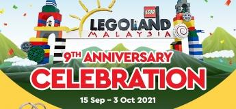 9th Anniversary Celebration @LEGOLAND Malaysia