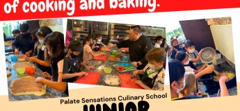 Junior Culinary Bootcamp @Palate Sensations