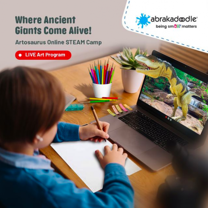 Artosaurus Online STEAM Camp