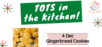 Tots in the Kitchen December 2021