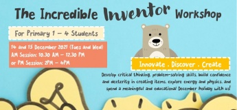 The Incredible Inventor Workshop (P1-4)
