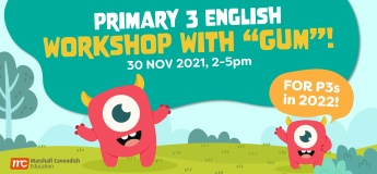 """Primary 3 English Workshop with """"Gum""""!"""