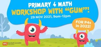 "Primary 4 Math Workshop with ""Gum""!"