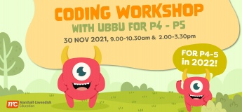 Coding Workshop with UBBU for P4 - 5