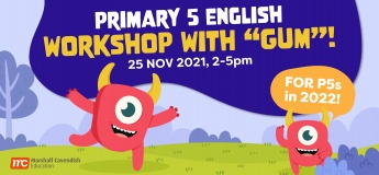 """Primary 5 English Workshop with """"Gum""""!"""