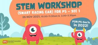 STEM - Smart Racing Car Workshop for Pri 5 - Sec 1!