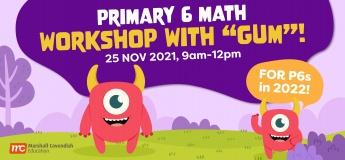 "Primary 6 Math Workshop with ""Gum""!"