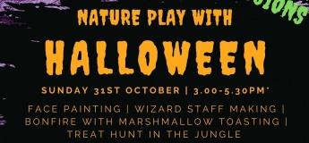 Nature Playtime with Halloween