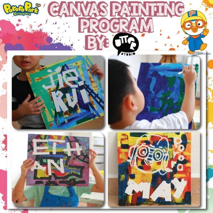 Pororo Canvas Painting Program