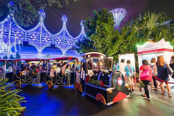 Rides at Christmas Wonderland