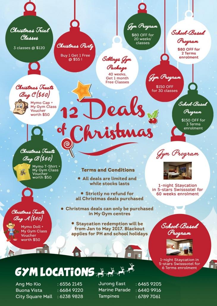Christmas Deals.12 Deals Of Christmas Tickikids Singapore