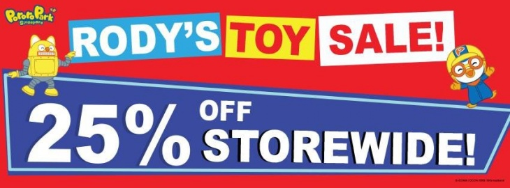 Rody's Toy Store Year End Sale at Pororo Park Singapore!
