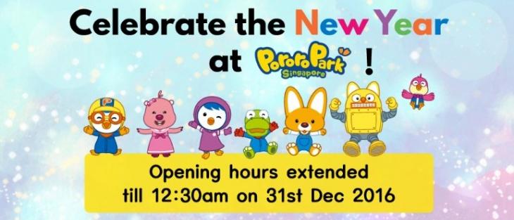 Celebrate the New Year at Pororo Park Singapore