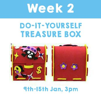 Back to School: DIY Treasure Box