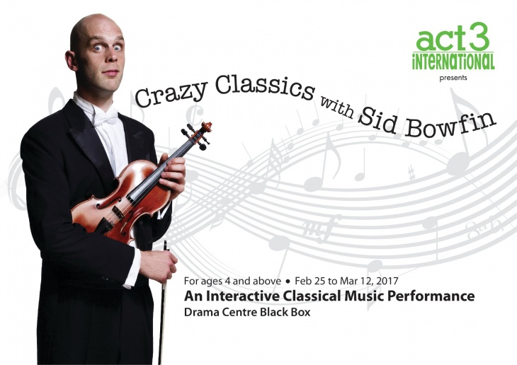 Classics with Sid Bowfin:  An Interactive Classical Music Performance