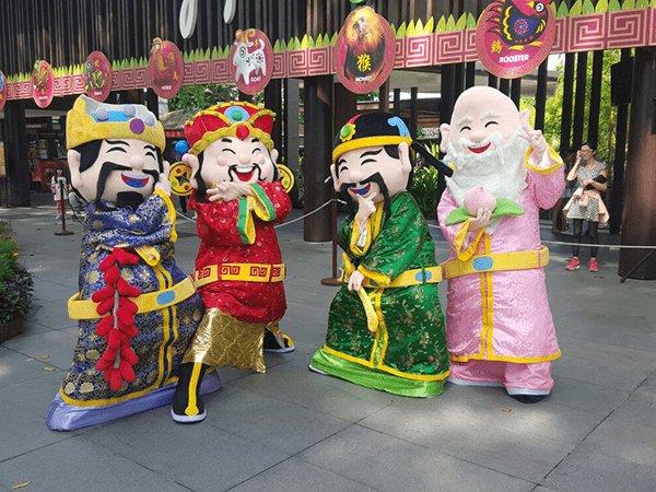 Auspicious Mascots Meet & Greet @Singapore Zoo