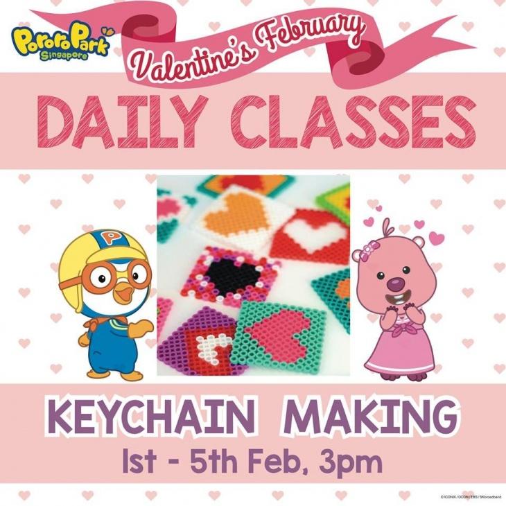 Valentine's Daily Class: Keychain Making