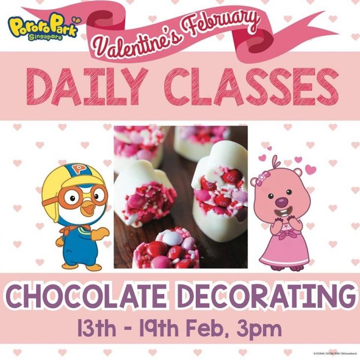 Valentine's Daily Class: Chocolate Decorating