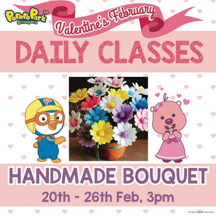 Valentine's Daily Class: Handmade Bouquet