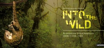 Into the Wild: An Immersive Virtual Adventure@ArtScience Museum