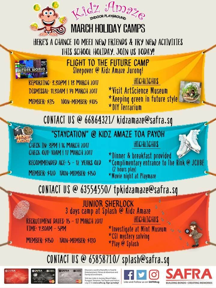 March Holiday Camps @Kids Amaze