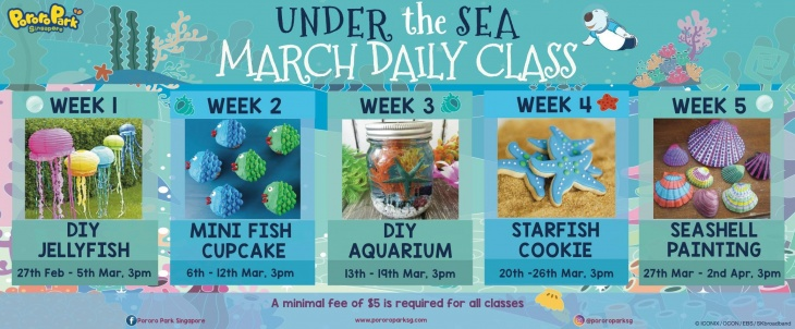 March Daily Classes: Under the Sea  @Pororo Park