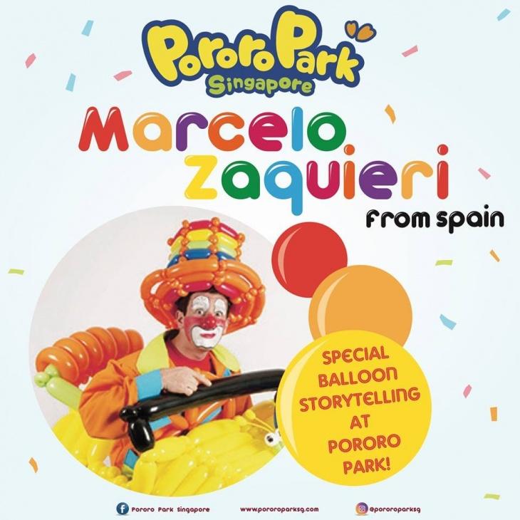 Balloon Storytelling by Marcelo Zaquieri @Pororo Park Singapore