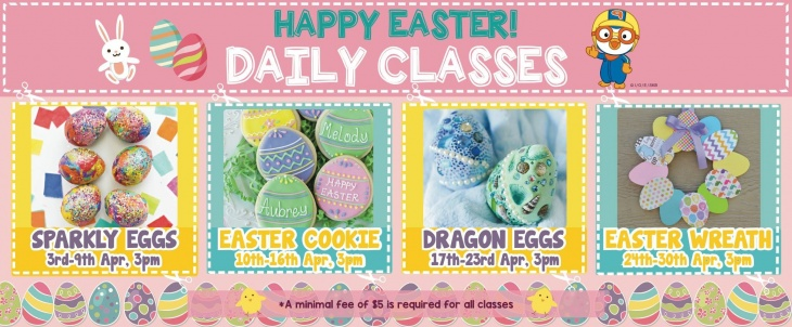 Happy Easter: Daily Classes @ Pororo Park