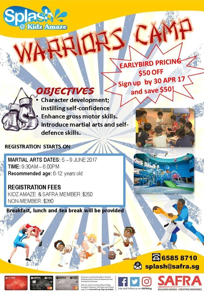5-Day Warriors Camp