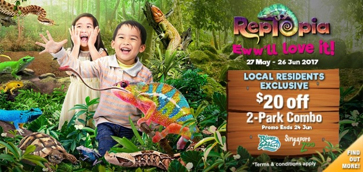 Reptopia @ Singapore Zoo & River Safari