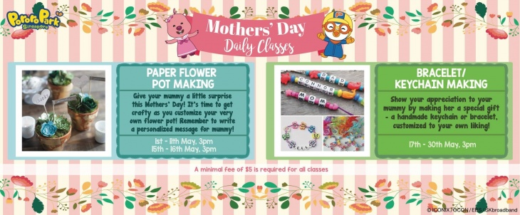 Mother's Day Daily Classes @Pororo Park