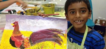 Art Classes for 6-10 year olds