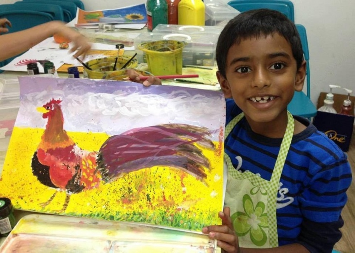 Art Classes for 6-10 year olds | Tickikids Singapore