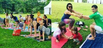 Weekends in the Park: Family Yoga