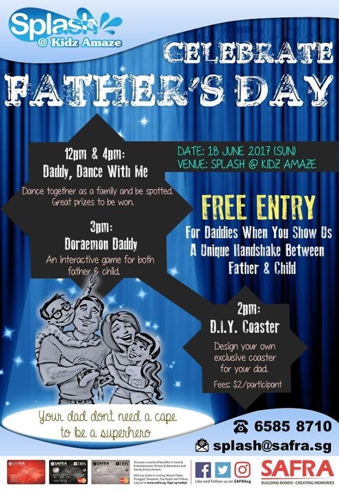 Celebrate Father's Day @Kidz Amaze