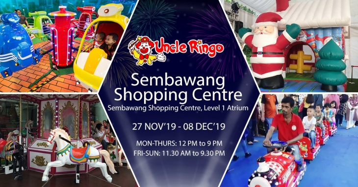 Uncle Ringo goes to Sembawang Shopping Centre