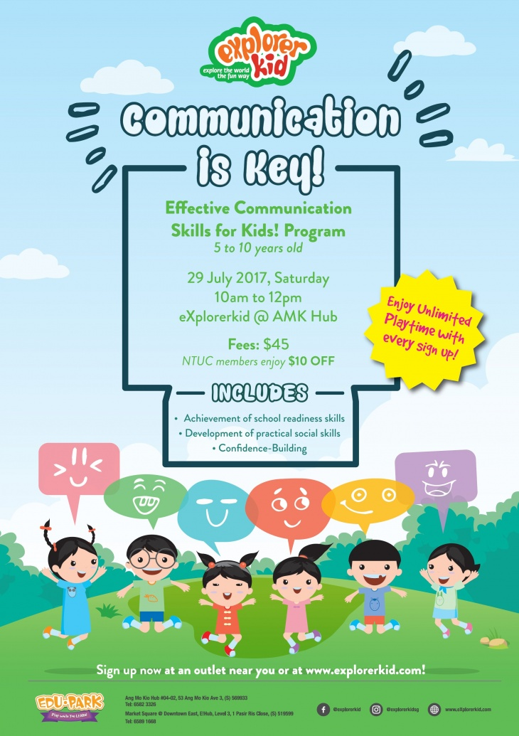 Effective Communication for Kids! | Tickikids Singapore