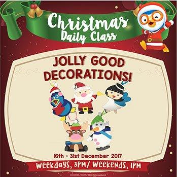 Jolly Good Decorations!