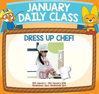 Dress Up Chef!