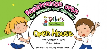 Pibo's Garden Playschool Open House @ Dunearn