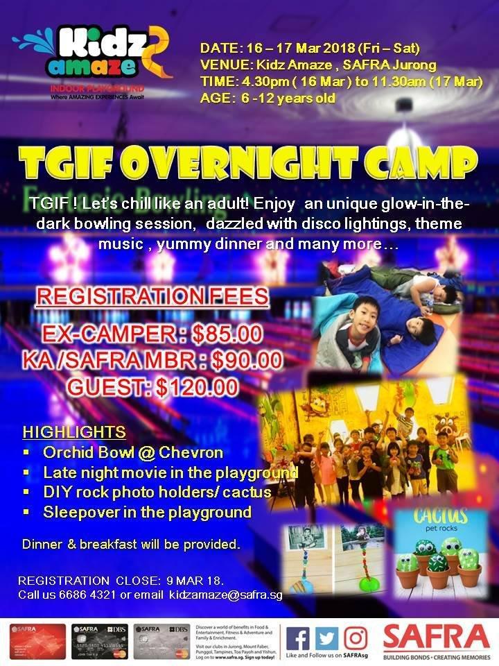TGIF Overnight Camp