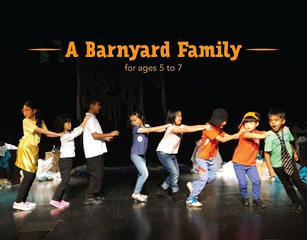 A Barnyard Family