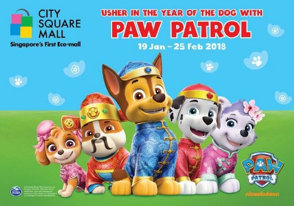 Usher In The Year Of The Dog With Paw Patrol City Square Mall